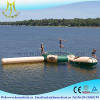China Hansel perfect plastic kids inflatable pool and slide for family on sale