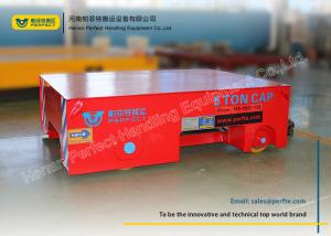 China Construction Automated Guided Vehicles Towed Cable Trailer With Safety Device on sale