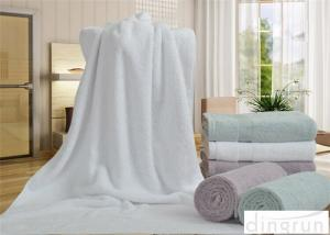 China Plain Pattern Extra Large Bath Sheets Towels For Women / Men on sale
