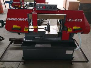 China CS-220 Horizontal Cutting Steel Manual Bandsaw Machine on sale