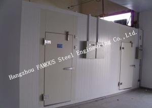 China PU Foam Sandwich Panel Modular Cold Room Panel For Meat And Fish Walk In Chiller on sale