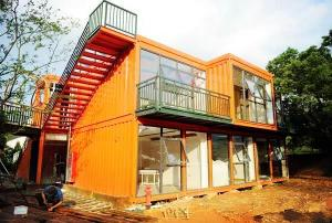 Wind Resistance Metal Storage Container Homes Reliable With UPVC