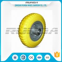 """Slip Resistant Foam Filled Tractor Tires 0.6mm Rim Thickness 8""""X2.50-4 OEM"""