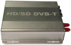 China Car Dvb-Digital Tv Receiver / Analog Digital Tv Tuner With English, Czech, Danish Osd Language Dvb-990b on sale