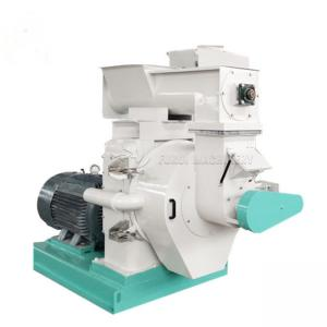 China Flat Die Wood Pellet Making Machine / Industrial Wood Pellet Mill on sale