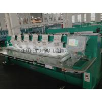 China Six Head Flat Embroidery Machine/Multi-Head Computerized Flat Embroidery Machine on sale
