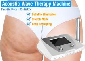 China Acoustic Wave Therapy 1 bar to 5 bar machine for Cellulite, slimming and toning using on sale