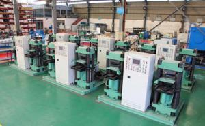 China Straight Sided Frame Automotive Hydraulic Press Brake Pads Making Machine on sale