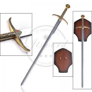 China Antique Imitation Medieval Greatsword 40.5 With Mirror Polish Blade on sale