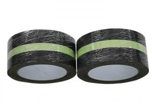 Quality High Visibility Glow In The Dark Non Slip Tape Rubber Black With Glowing Strips for sale