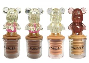 China Personalized Rubber Wine Bottle Stopper for Christmas Promotion Gifts on sale