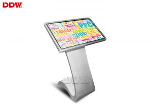 China 47 inch Floor Stand Touch Screen information Kiosk lcd display High brightness DDW-AD4701TK on sale