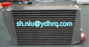 China Automobile intercooler charge air cooler auto radiator aluminum plate bar heat exchanger evaporator on sale