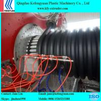 China HDPE new type Krah pipe with corrugated pipe inside or with plain pipe inside production line on sale