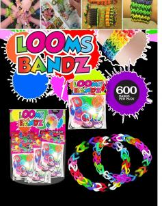 China Rubber Colorful   Loop  Kit bracelet on sale