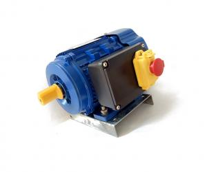 China 1.5 HP Asynchronous One Phase Induction Motor With Protector For Bore well Compressor on sale