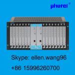 Potenciômetros de alta qualidade sobre o multiplexer do pcm e1 com FXS FXO 4WEM RS232 GPON 16E1