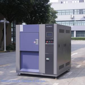 China LCD Controller Eco-friendly Refrigant Thermal Shock Test Chamber for PCB Testing on sale