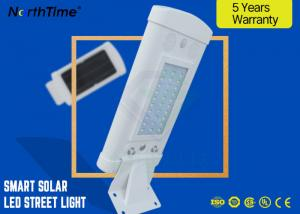 China High Power 10w All In One LED Solar Street Light / Waterproof Led Roadway Lighting on sale