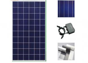 China Clean Energy Silicon Solar Panels 260 Watt , Home System Black Solar Panels on sale