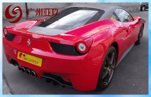 China PVC Gloss Vinyl Wrap Car Exterior Carbon Fiber 1.52*30m on sale