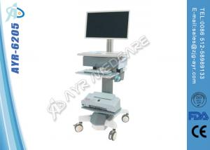 China CE Approved Hopital Medical Mobile Workstation Trolley / Cart With Laptop on sale