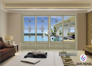 China Customized Contemporary Design Aluminum Sliding Doors Sound Insulation on sale