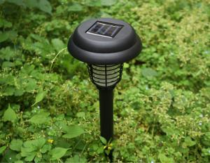 China 2LEDs Solar Mosquito Killer Lamp, Outdoor Solar Garden Light Solar Insect Killer Lamp on sale