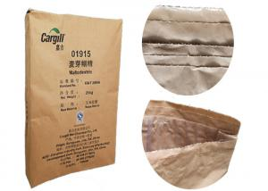 China Brown Or White Multiwall Kraft Paper Bag For Cement Sand Flour Powder Packaging on sale
