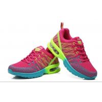 Flyknit Fly woven athletic air cushion outsole height increased breathable antiskid damping outdoor sports shoes