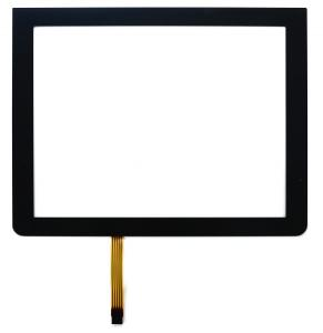 China High Definition 18.5 5 Wire Resistive Touch Panel Screen With Black Frame , 16:9 Ratio on sale