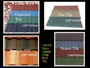 China anti-fade stone coated metal roof tile/natural color harvey metal roofing tiles on sale