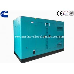 China 150KVA Cummins Soundproof Diesel Generator, 120KW Electric Starting Cummins Generator on sale