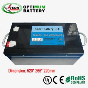 China 12v 300ah E-Bike Lifepo4 Battery Rechargable Electric Bike Batteries on sale