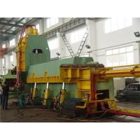 China Metal Shearing Equipment / Scrap Baler Machine For Pre Compressing Cutting Waste on sale