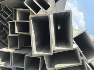 Grade 201 304 316L Square Welded Stainless Steel Pipe ASTM JIS GB EN