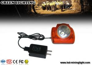 China 6.2Ah,Battery 15000lux Cree Led OLED Screen Digital Mining Cap Lights on sale