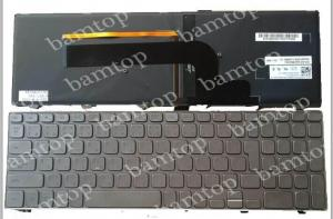China Original Japanese Backlit Silver Tablet Keyboard Dell Inspiron 17 Excellent Bounce on sale