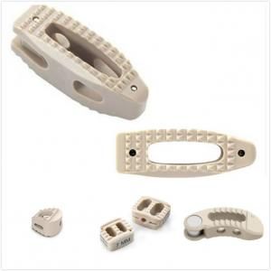 China Orthopedic Peek Cage Cervical , Lumbar Cage Interbody Fusion Device on sale