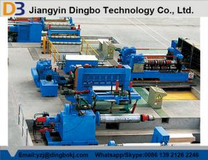 China 380V Semiautomatic Steel Coil Slitting Line Machine with Common Carbon Steel Sheet on sale