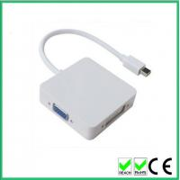 3 in 1 Mini DisplayPort to H DMI DVI DisplayPort Cable Adapter for Apple MacBook MacBook Pro MacBook Air