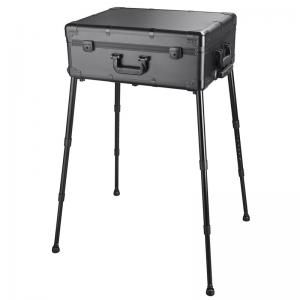 China Makeup Trolley With Lights And Mirror , Vanity Mirror Case With Legs Non - Marring on sale