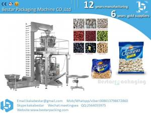 China Besar 10 heads weigher vertical auto Seeds for tomato packaging machine on sale