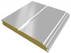 China Corrugated Steel Sheets Prepaint Galvalume Sandwich Panel Metal Roofing Sheets EPS, PU on sale