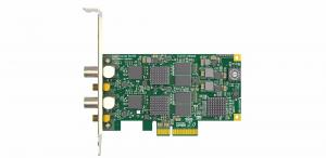 China 2CH Pcie Video Audio Capture Card Pro  2K Video conferencing, Live Streaming, Medical on sale