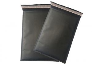 Quality Black Kraft Paper Bubble Mailing Bags with Self Sealing Padded Envelope for sale
