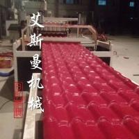 Replace ceramic tile - PVC Glazed Tile Roof Roll Forming Machine for Plastic Colorful Roofing