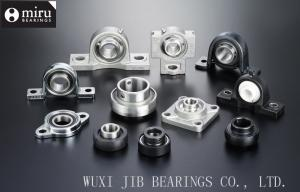China Miniature Cast Iron / Plastic Mounted Ball Bearings , Pillow Block Ball Bearing Unit on sale