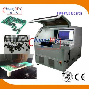 China 15W UV Laser PCB Cutting Machine ±20 μM Precision For FR4 PCB Boards on sale