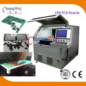 China 15W UV Laser PCB Depanelizer Machine ±20 μM Precision For FR4 PCB Boards on sale